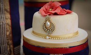 Nadiya's showstopper wedding cake.