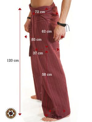 #Red #Extra #Long #Fisherman #Pants #line #Pattern - by #bindidesigns $42