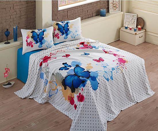 Oltre 25 fantastiche idee su copriletto rosso su pinterest comforter rosso - Gonna letto matrimoniale ...