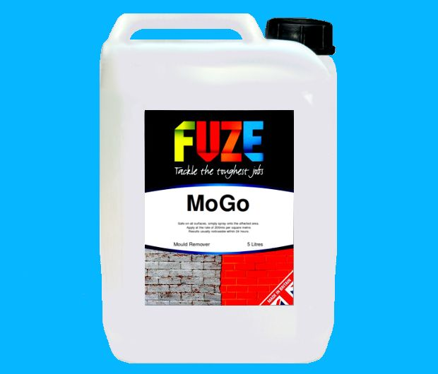 MoGo rapidly removes mould and mildew, whilst simultaneously preventing it from regrowing!