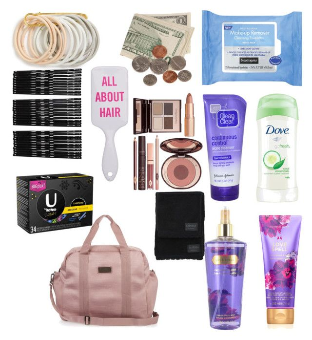"""school Gym bag essentials"" by feliciy15 on Polyvore featuring Clean & Clear, Neutrogena, adidas, Dove, Odeme, Monki, Charlotte Tilbury and La Perla"