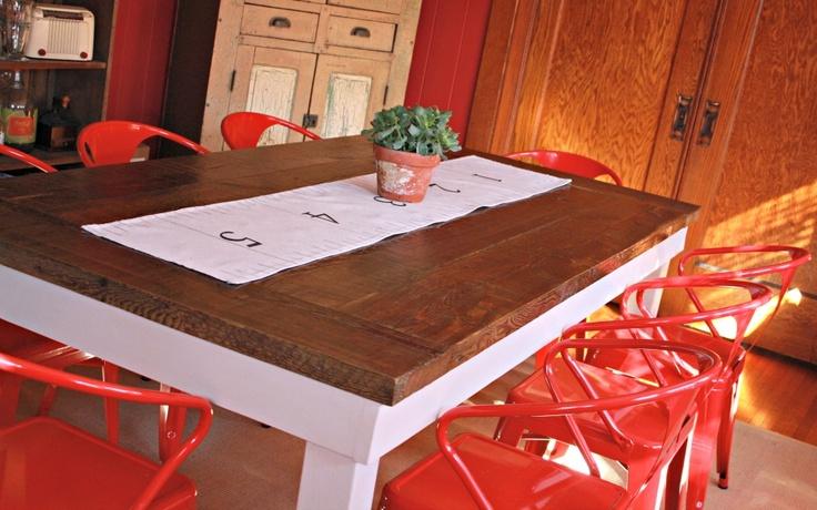 Robb Restyle: Farm Table DIY
