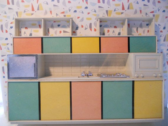 Debbie's Dream House Kitchen 1960 by MrsOddsandends on Etsy