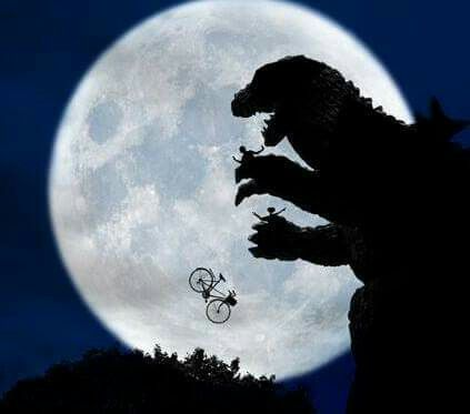 Godzilla vs E.t the extra trestral