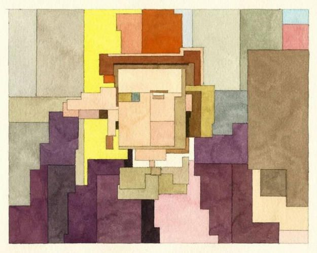 See The Cubist-Atari Versions of Your Favorite Pop Culture Icons | Co.Create | creativity + culture + commerce