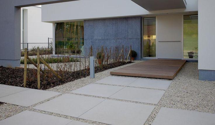 hout, grind, mega tegels combi Megategels Carreau 100x100 Gris Naturel | Stone & Style
