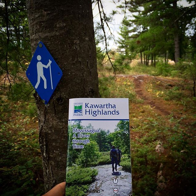 If you're in the area check out the new trail at #KawarthaHighlandsPP…