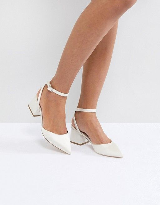 Asos. Wedding shoes. #ad #bridal #shoes #bridalshoes