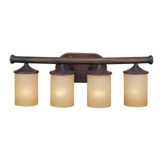 Millennium Lighting 7194 4 Light Bathroom Vanity Light Rubbed Bronze Indoor Lighting  Bathroom Fixtures Vanity Light