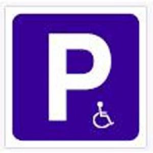 Señal Parking minusválidos - http://www.janfer.com/es/varias/761-senal-parking-minusvalidos.html