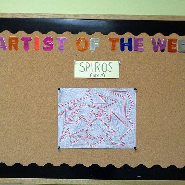 Artist of the week #NSAL #NSALart #art