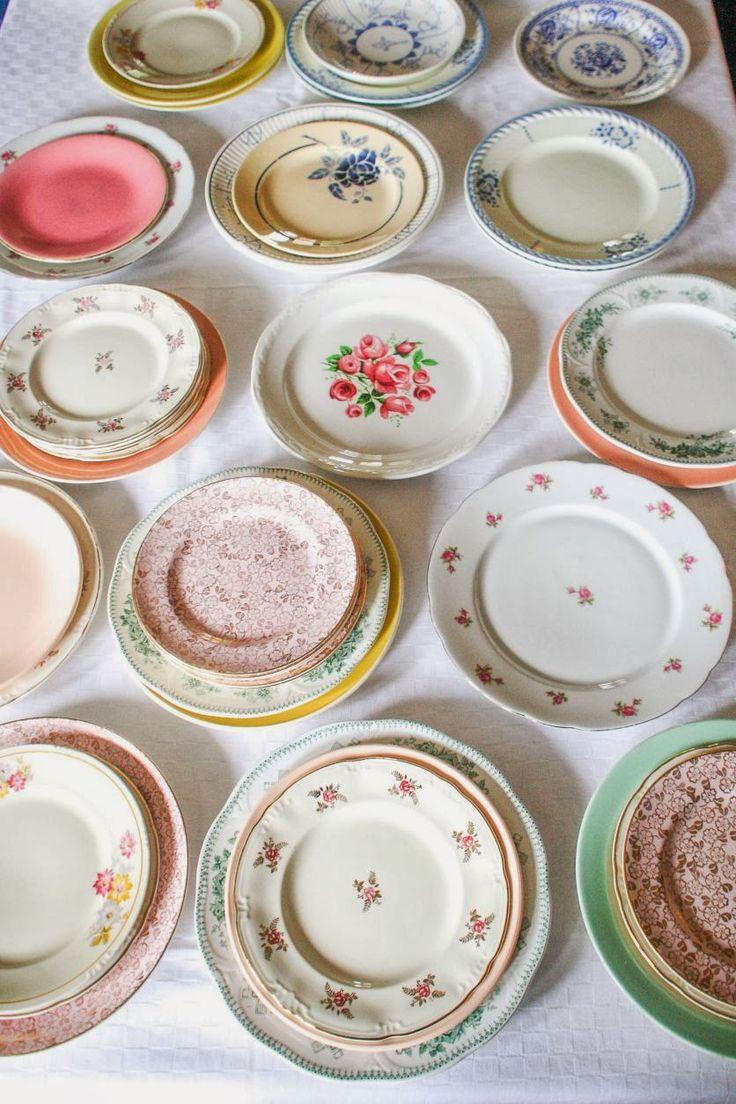 Ma maison au naturel: Ma belle vaisselle, vaiselle, récup, couleur, vintage, récupération