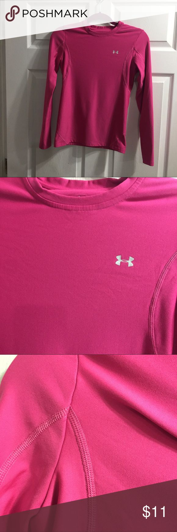 Under Armour pink long sleeve top In excellent condition no flaws Under Armour Tops