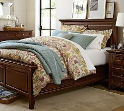Mahogany Bedroom Furniture Hudson Pottery Barn House Style Pinterest And Bed