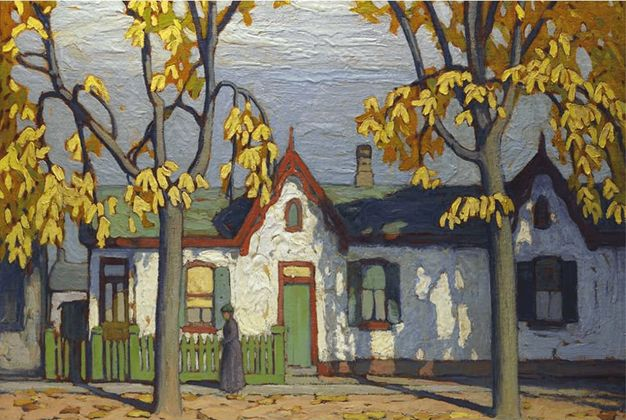 Lawren Harris - Group of Seven - Go Home Bay - National Art Gallery - Discovery *