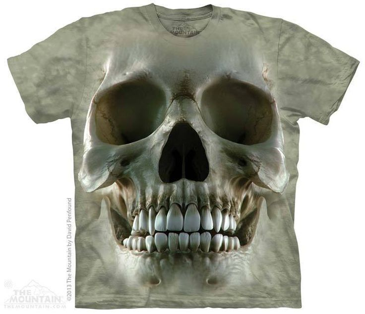 PRIKID - Big Face Skull T-Shirt, $37.00 (http://prikid.eu/big-face-skull-t-shirt/)
