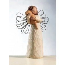 Engel van Willow Tree Angel of Friendship. For those who share the spirit of friendship. Ontwerp Susan Lordi