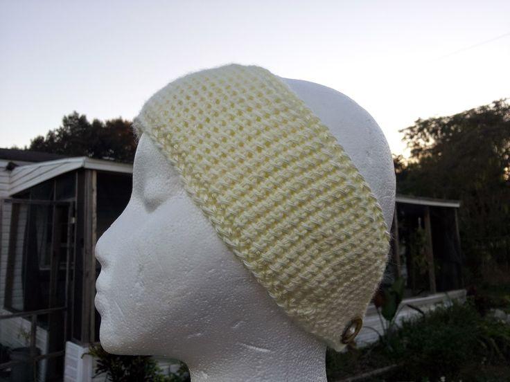 Mommy Made Crochet: Tunisian Headwrap/Earwarmer
