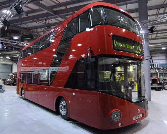 London's new red bus!
