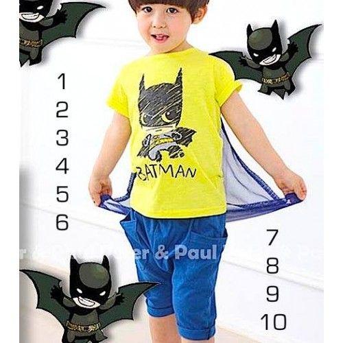 Kaos Oblong berkarakter sketsa Batman berwarna keren dan bagus hijau tahi kuda. memiliki sayap biru tua yang bisa dipasang atau dilepas. Distelkan dengan celana pendek biru berkantong di kiri dan kanan nya. untuk usia 6 sampai 10 tahuan, baju bergaya casual dengan celana denim jeans full karet. nyaman dipakai  […]
