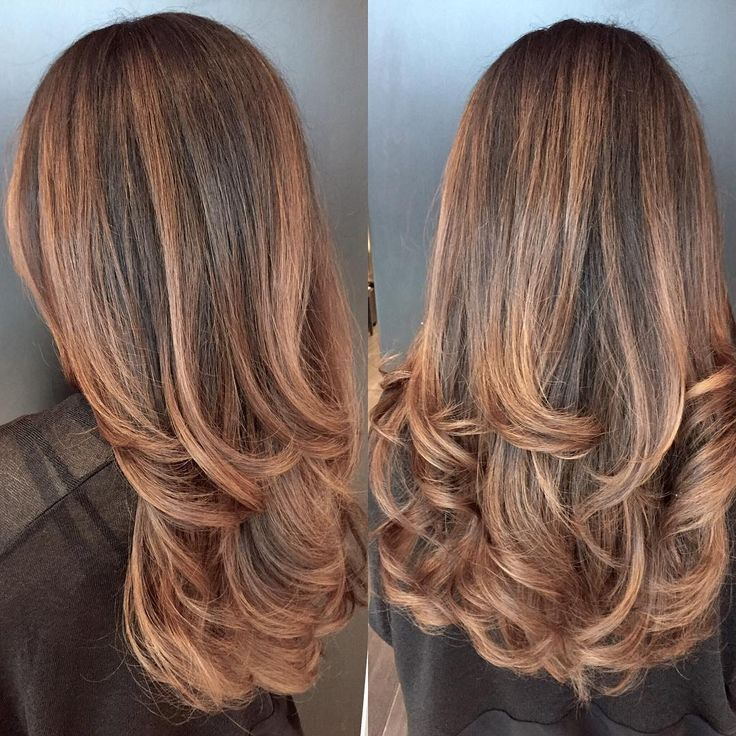 60 Modern Hairdos with Caramel Highlights — The Tasty Trend Check more at http://hairstylezz.com/best-caramel-highlights/