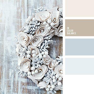 Los colores marrón y celeste grisáceo son apropiados para usar en invierno. La ropa en estos tonos pastel le dará un toque elegante y de estilo a tu look.