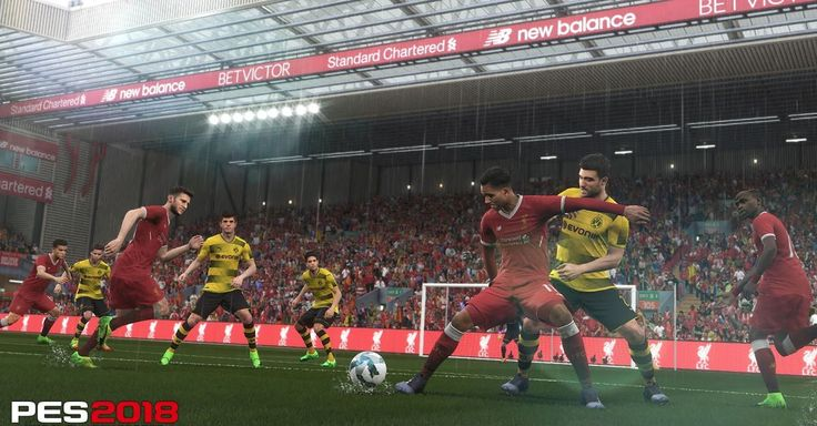 The PES 2018 demo is now available on PS4 and Xbox One