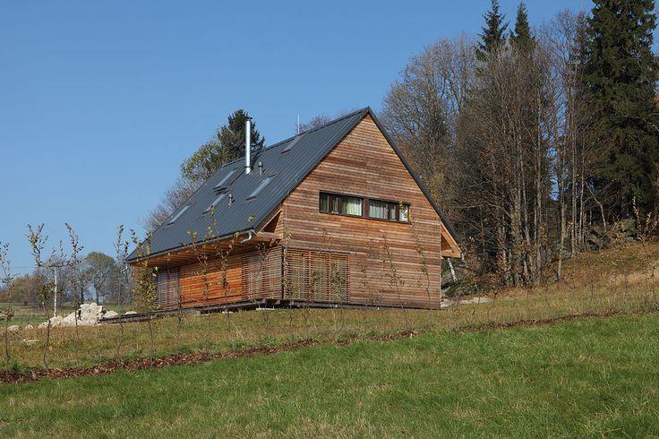 dřevostavba Horní Maxov