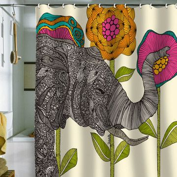 Aaron Shower Curtain, $62, now featured on Fab.