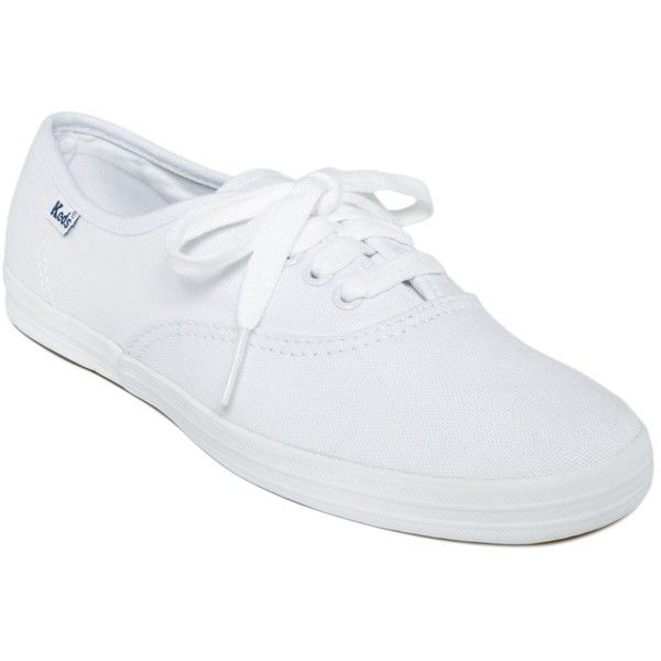 Keds Women's Champion Oxford Sneakers (59 CAD) ❤ liked on Polyvore featuring shoes, sneakers, flats, white, white sneakers, white shoes, white canvas sneakers, white flats and flat shoes