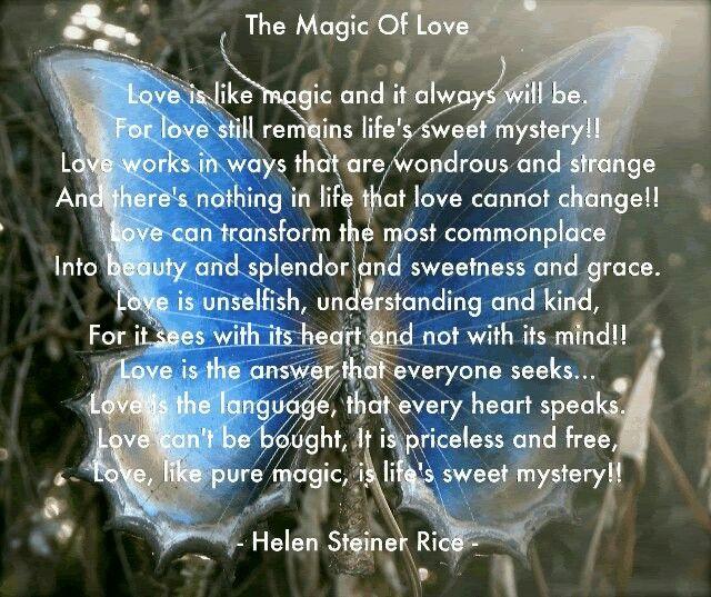 Helen Steiner Rice. Love