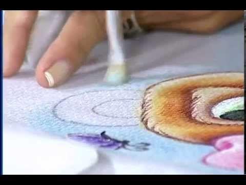 Artesanato - Pintura em fralda