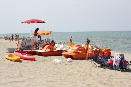 American Beach on the Mediterranean near Camp Darby