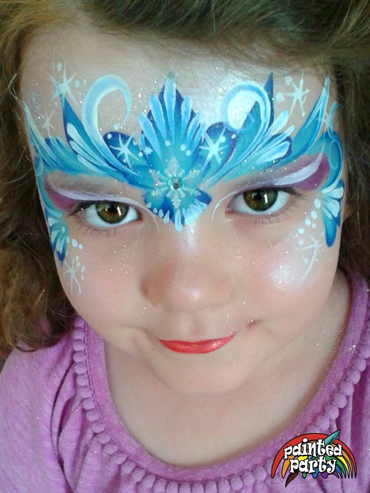 Ideas about frozen face paint on pinterest face paintings christmas