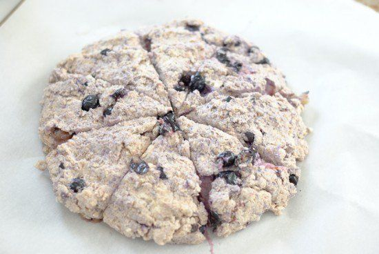 Healthy Blueberry Scones Recipe - Cookie and Kate