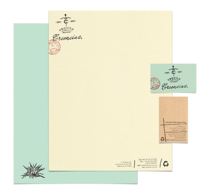 Lovely subtle coloured stationery
