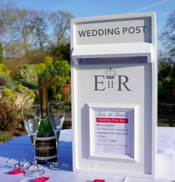 Luxury Wedding Card Post Box To Buy Or Hire Throughout The UK Ensure Your Cards Gifts Are Secure On Day