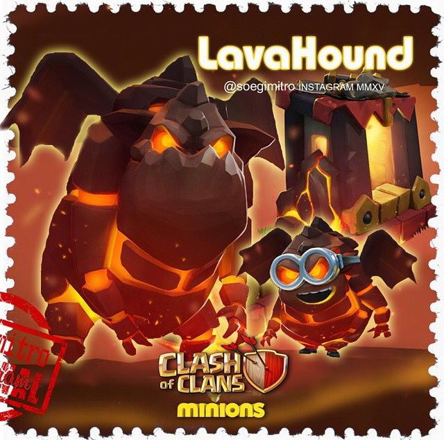 Clash of Clans Minions ~ LavaHound