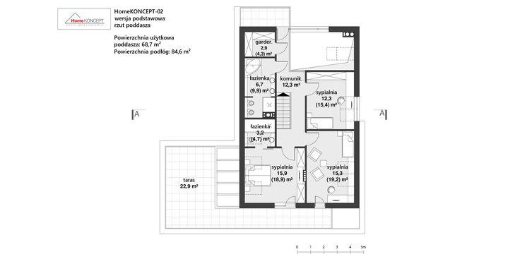 Projekt domu HomeKONCEPT 2 www.homekoncept.pl