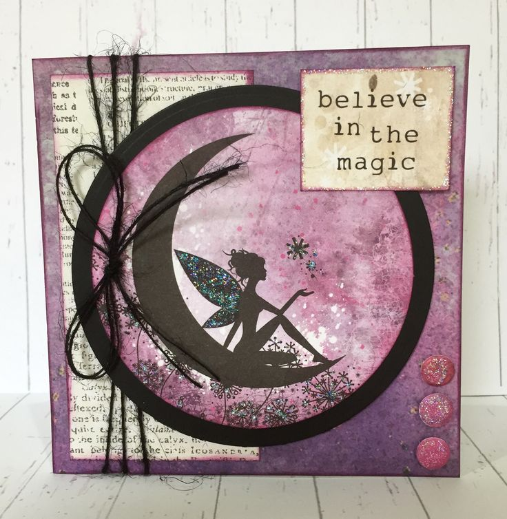 Created by Sue Morgan using Craftwork Cards Essentials Library and Fairy Land Collection.