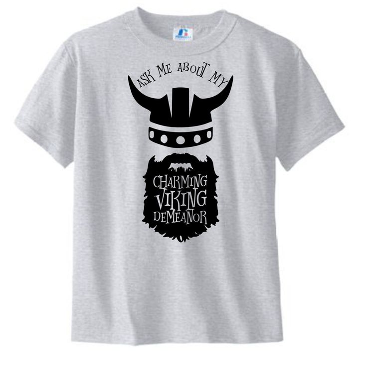 Funny Viking shirt - Beard shirt - hipster - How to Train Your Dragon by DoodlesAndDots2 on Etsy