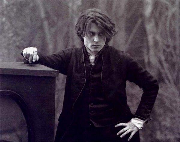 Johnny Depp hair in sleepy hollow