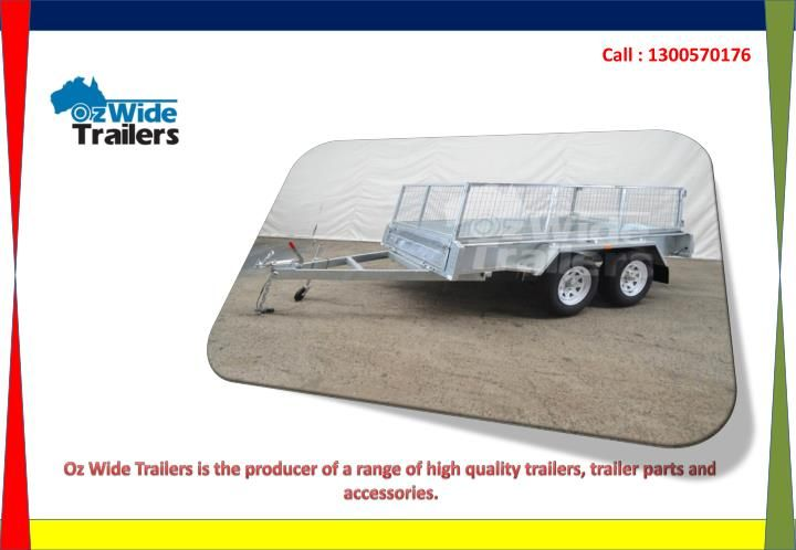 When you want to buy a car trailer you should first of all want to consider its quality and reliability. A car trailer is typically used for transportation starting with one place then onto the next. The baggage can incorporate everything from individual gear to authority hardware. http://www.ozwidetrailers.com.au/
