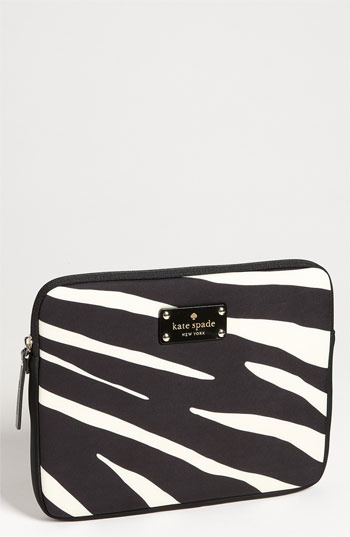 kate spade new york 'zebra' iPad sleeve