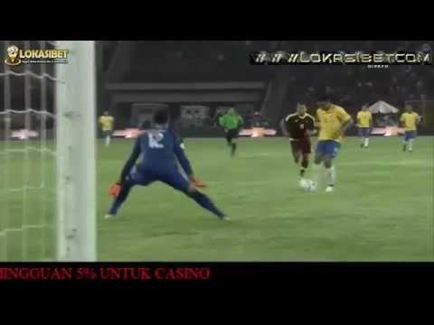 Highlight Venezuela 0 - 2 Brazil 2016