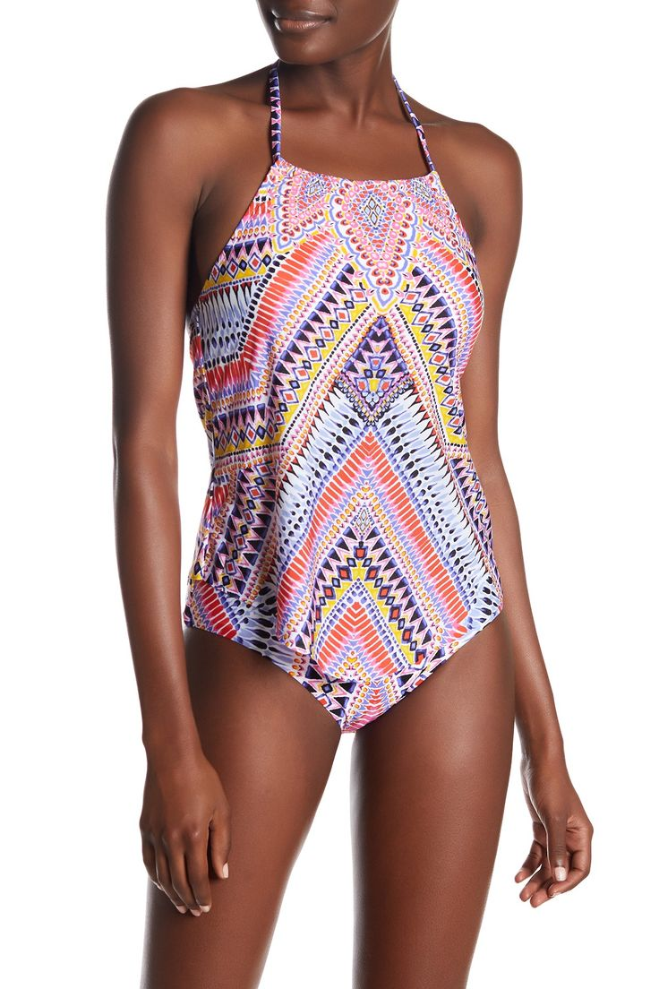Perfect Placement Halter Bikini Top by Laundry By Shelli Segal on @nordstrom_rack