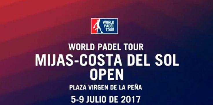 19:00 directo  Padel  final masculina  Cerveza Victoria Mijas-Costa Del Sol Open 2017