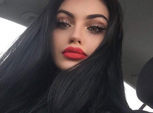 grafika girl, makeup, and beauty