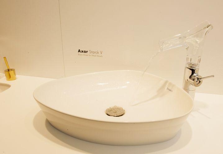 Axor Starck V, the vitality of water...