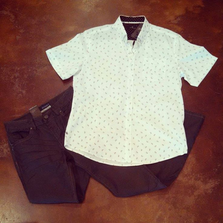 Division E raw night denim & keep it moving button down from 7 Diamonds! #menswear #menslook #ootd #shophouseofsage www.facebook.com/shophouseofsage  SHOP US! http://house-of-sage.shoptiques.com